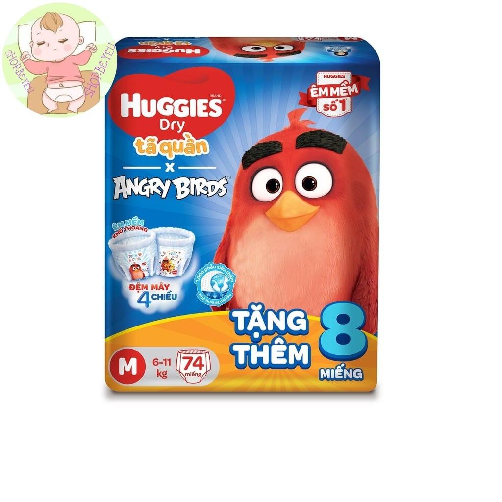[angry-bird]-ta-quan-huggies-dry-super-jumbo-m74-l68-xl62-xxl56-tang-8-mieng