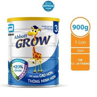 Sữa Abbott grow 3 900g thumbnail