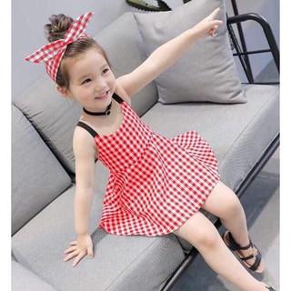 Váy hè xinh xắn cho bé