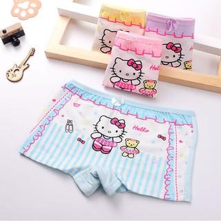 Quần chip đùi, quần lót cotton họa tiết đáng yêu xinh xắn cho bé gái QL01