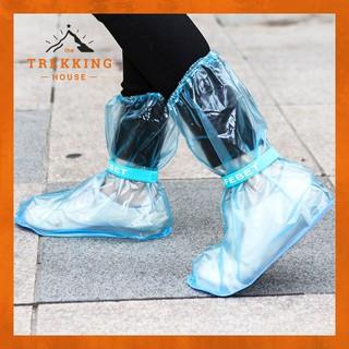 Bọc giày đi mưa chống nước đi xe máy, ủng đi mưa trong suốt thời trang SAFEBET