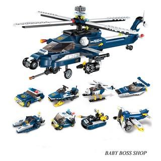 Xếp hình lego máy bay chiến cơ 1801