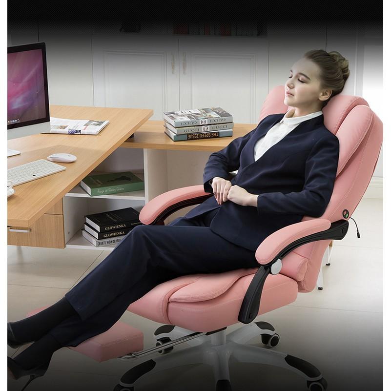 Ghế Làm Việc + Massage + Ngả Lưng