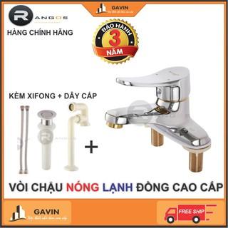 Bộ vòi chậu lavabo Rangos RG-02V