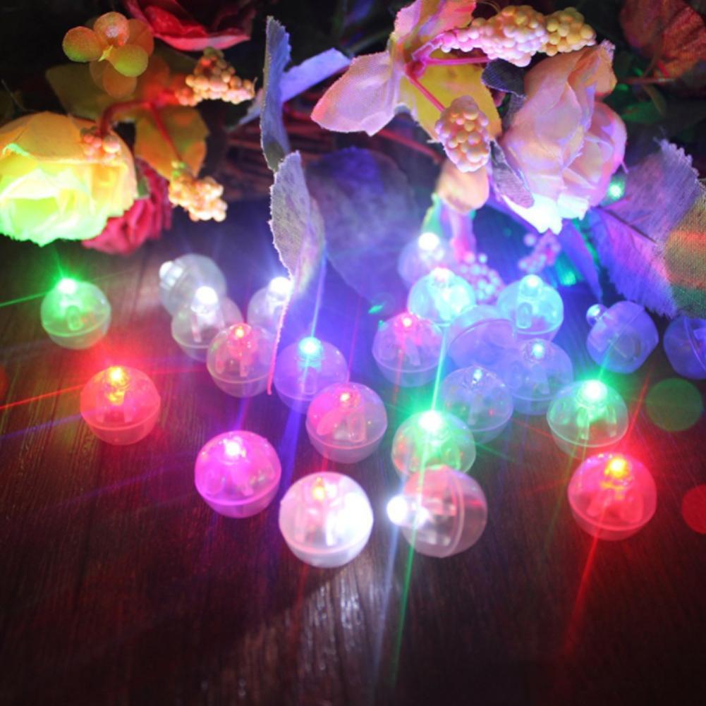 50PCS Đèn LED quả châu nhiều màu sắc trang trí sáng tạo