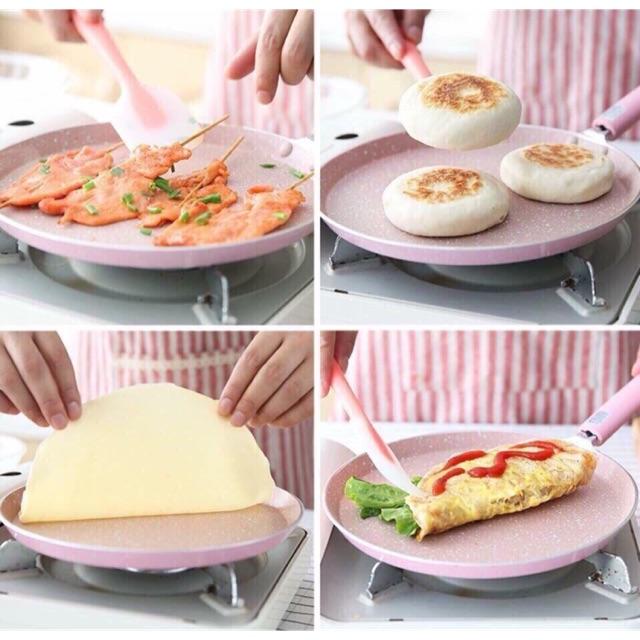 Chảo dán bánh 20cm siêu chống dính