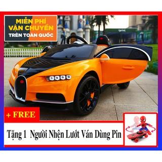 Xe ô tô điện trẻ em HSD-8202 Bugatti