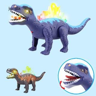 JL_LED Light Up Moving Walking Robot Electronic Dinosaur Toy Kids Birthday Gift