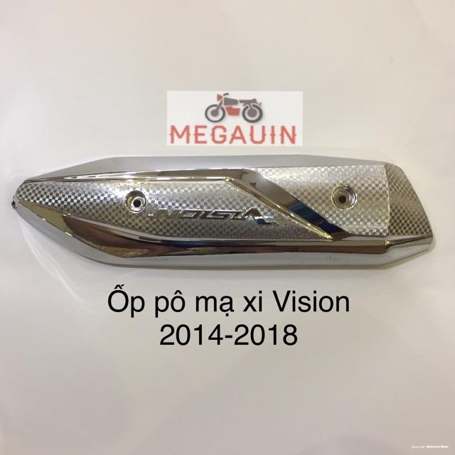 Bộ ốp trang trí mạ crom xe Vision 2014-2020 (giá lẻ từng món hoặc cả bộ)