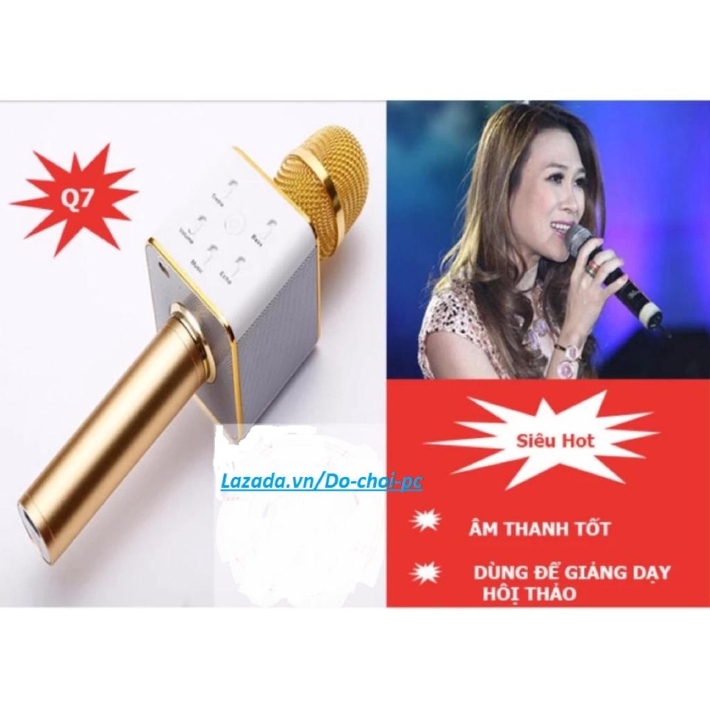 Mic Hát Karaoke Kiêm Loa Bluetooth 3in1 Q7 (màu tùy ý) -Q7vàng - 2666114 , 1318425222 , 322_1318425222 , 155000 , Mic-Hat-Karaoke-Kiem-Loa-Bluetooth-3in1-Q7-mau-tuy-y-Q7vang-322_1318425222 , shopee.vn , Mic Hát Karaoke Kiêm Loa Bluetooth 3in1 Q7 (màu tùy ý) -Q7vàng