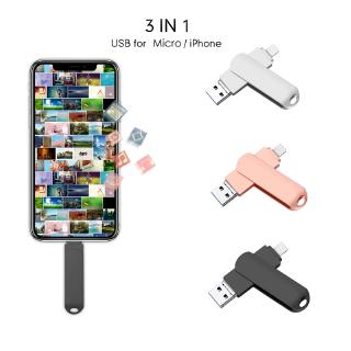 256GB Pendrive for IPhone Android Phone Pendrive IOS USB Flash Drive 128GB 64GB Flash Pen Drive