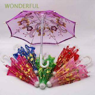 WONDERFUL Handmade Fashion Dolls Toys Kids Gift New Lace Umbrella