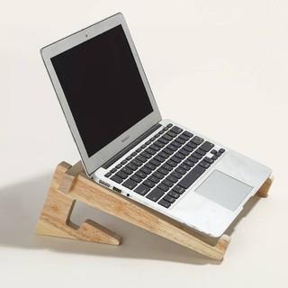 Giá đỡ laptop Kệ laptop gỗ tản nhiệt dùng cho máy tinh lap top 14 – 17 inch ram 8g