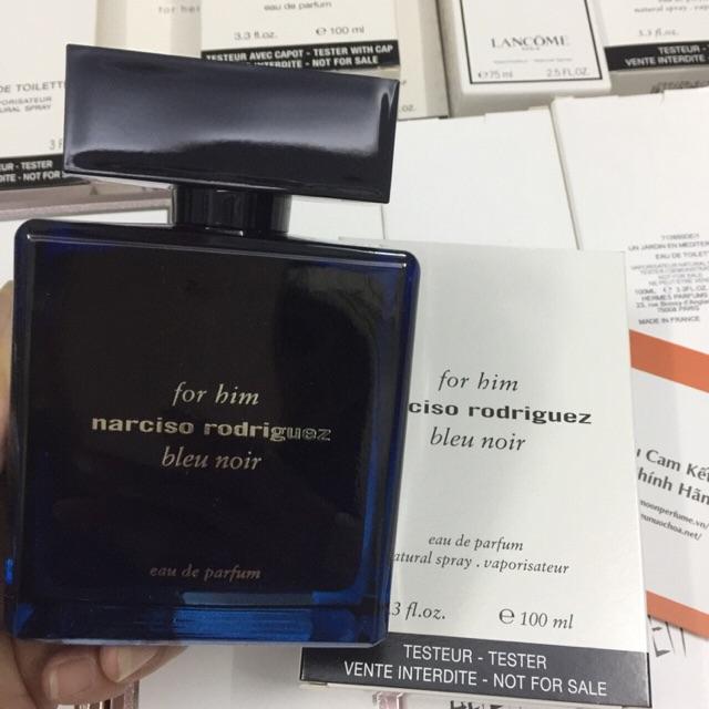 [Tester] Nước hoa Nam Narciso-Narciso Blue Noir 100ml edp - 2616663 , 1257004423 , 322_1257004423 , 1550000 , Tester-Nuoc-hoa-Nam-Narciso-Narciso-Blue-Noir-100ml-edp-322_1257004423 , shopee.vn , [Tester] Nước hoa Nam Narciso-Narciso Blue Noir 100ml edp