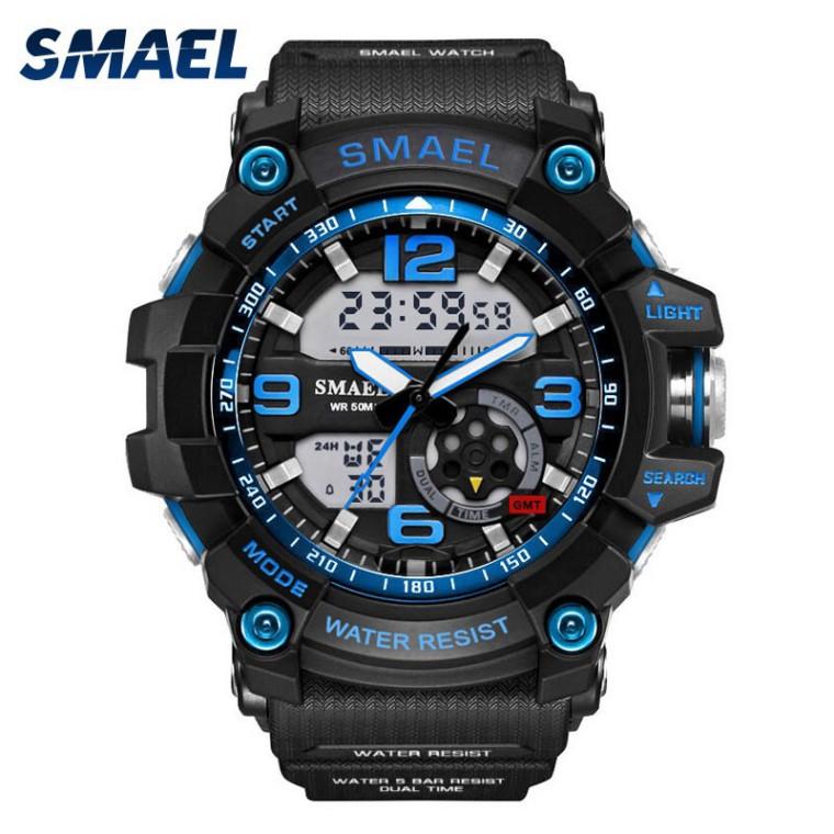 Sale 69% Đồng hồ nam DH điện tử đa năng kiểu dáng thể thao chống nước 3ATM, Gold Giá gốc 550000đ- 25F81