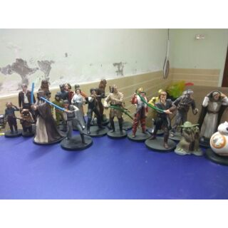 Set 44 Mô hình DISNEY STAR WARS figures set