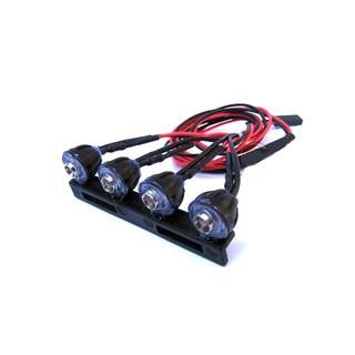 Dàn đèn nóc – lắp cho xe RC WPL C14 1:16 (Led trắng)