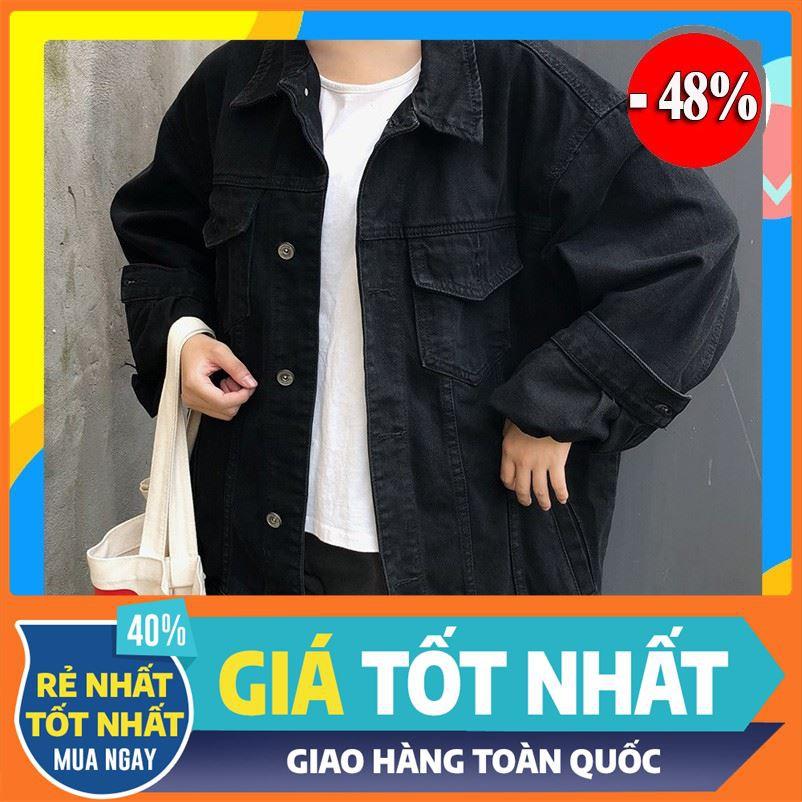 [ Rẻ Vô Địch ] áo khoác jean nam,khoác jean Unisex cao cấp KJC25 thời trang trung niên