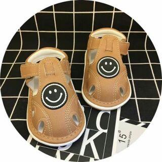 Sandal còi chíp cho bé trai 9-18m