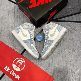 [GeekSneaker] Giày Jordan 1 High Hyper Royal - Phiên bản Tiêu Chuẩn