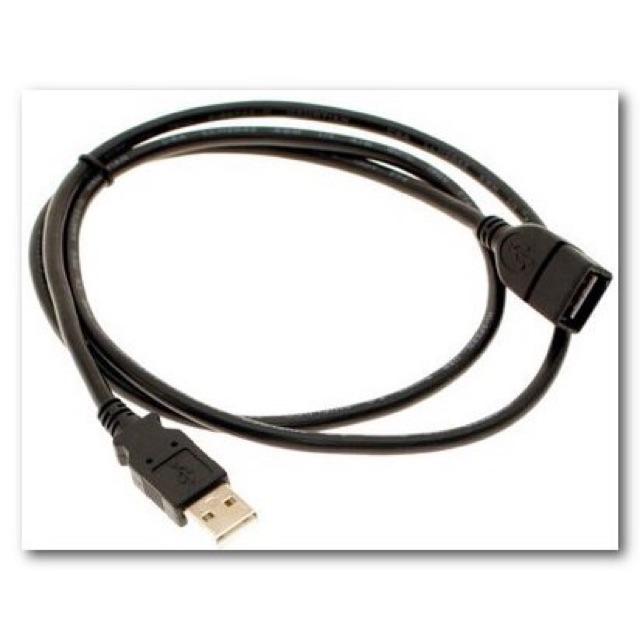 Dây USB nối dài 1.5M đen Giá chỉ 7.000₫