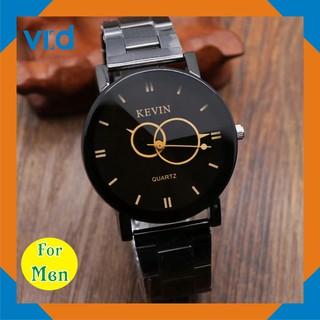 Đồng hồ thời trang For Men Kevin -  Sang trọng - Thép không gỉ
