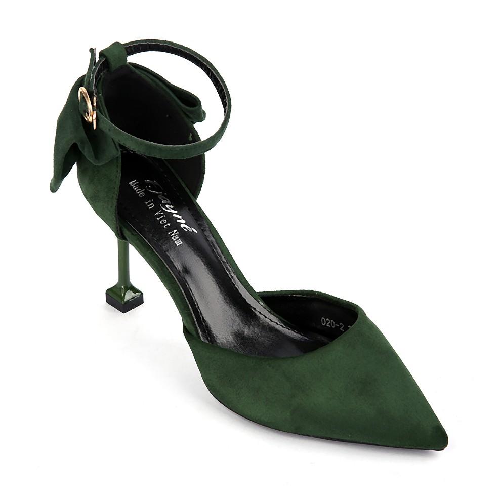 Giày cao gót nữ 020-2 màu xanh rêu - 3593889 , 1214885595 , 322_1214885595 , 660000 , Giay-cao-got-nu-020-2-mau-xanh-reu-322_1214885595 , shopee.vn , Giày cao gót nữ 020-2 màu xanh rêu
