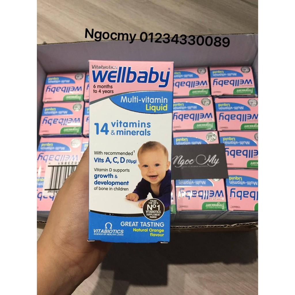 Vitamin Tổng Hợp Well Baby - 150ml
