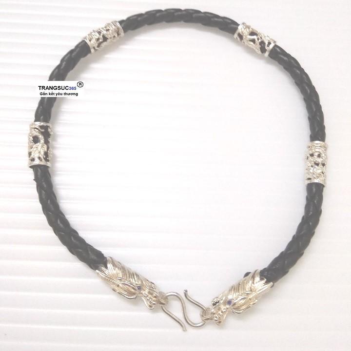 Lắc tay nam bạc ts365-la027, vòng tay nam bạc ts365-la027