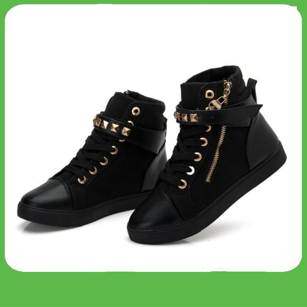 [FLASH SALE]  Giày sneaker nữ cổ cao APU A-GTTNU-06 / TRT-GTTNU