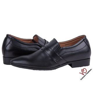 Giày tăng chiều cao màu đen và nâu đỏ ATTOM AM4004 thumbnail