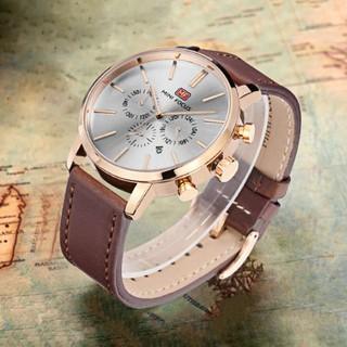 [Tặng vòng tay]Đồng hồ nam Mini Focus chính hãng MF0023G.03 dây da cao cấp