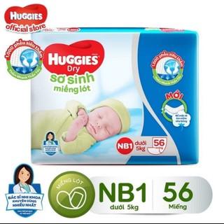 Miếng lót sơ sinh Huggies NB1 56m