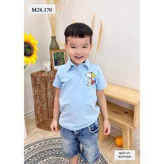 Áo thun bé trai tay ngắn in hình - NHATVY M28 thumbnail
