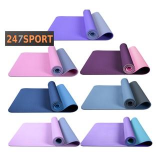 Thảm tập YOGA Chống trượt, Thảm tập GYM tại nhà tập thể dục. Chất liệu tpe 2 lớp chống trơn tuyệt đối