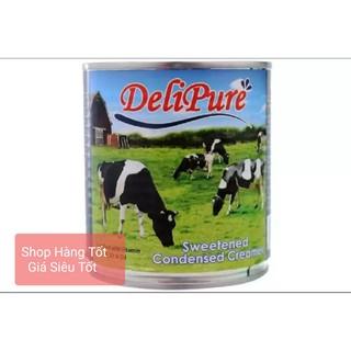 [combo 10 lon) sữa đặc có đường Delipure 380g/lon ( nhập khẩu tứ Malaysia)
