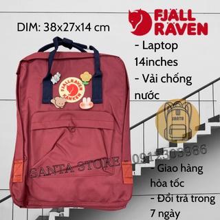 Balo Kanken thời trang đi học, đi du lịch, đựng vừa Laptop A4 cực xinh, vải chống nước thumbnail