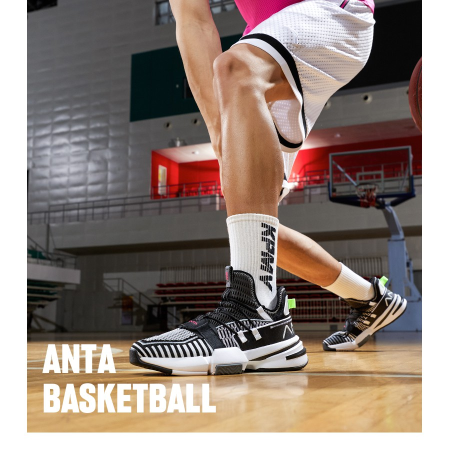 Giày bóng rổ nam Anta 812021609-3