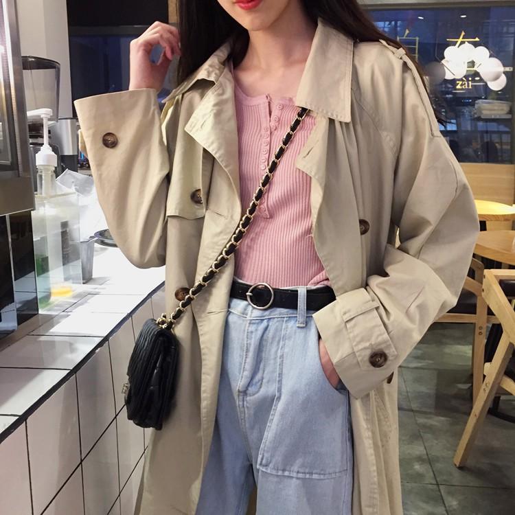 Áo len nữ dài tay phối cúc phong cách Hàn Quốc (Video+Ảnh thật)