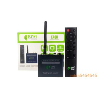 Bộ chuyển đổi âm thanh Kiwi KA08 Bluetooth giải mã 24 bit