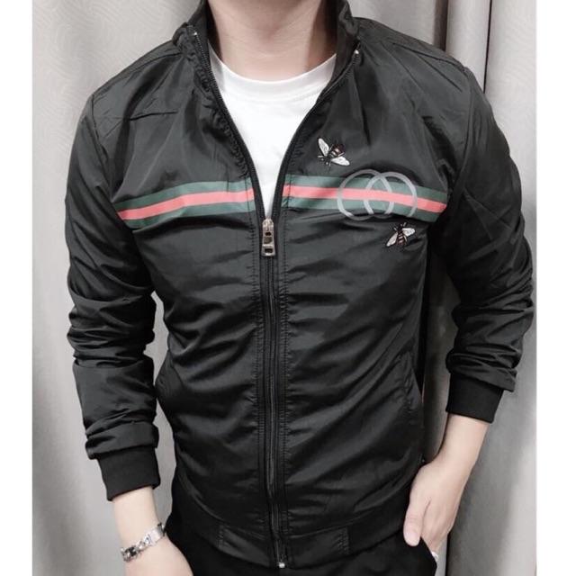 Áo khoác dù nam 2 lớp hạo tiết thời trang tynafashion ms017