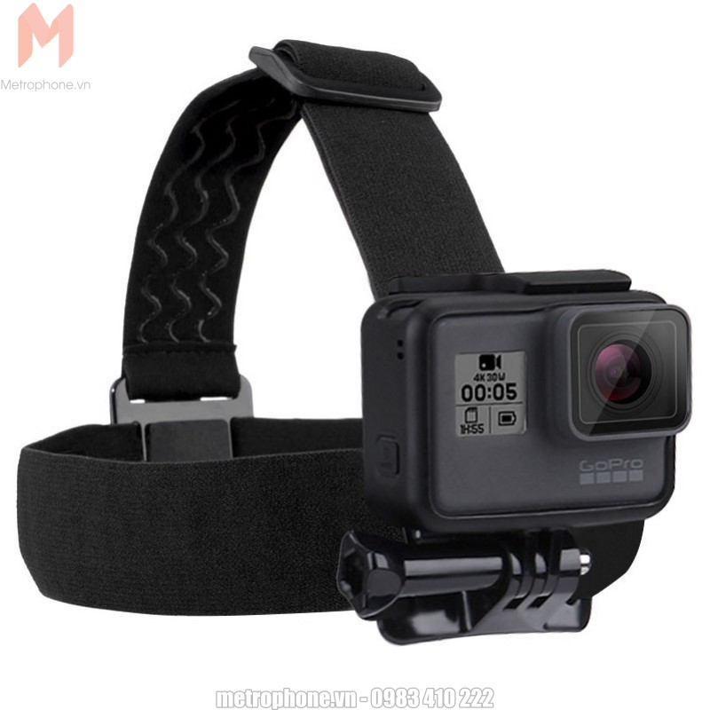 Dây đeo đầu GoPro và camera hành động