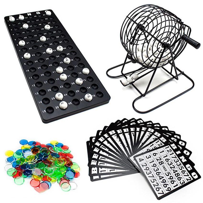 Đồ Chơi Lô Tô Bingo 100% bằng sắt