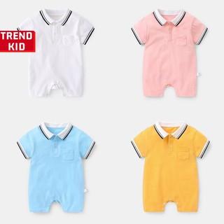 [Mã TREND20 giảm 15% đơn 99K] Bodysuit, bộ liền thân cổ đức cho bé trai ,bé gái, trẻ sơ sinh Michley