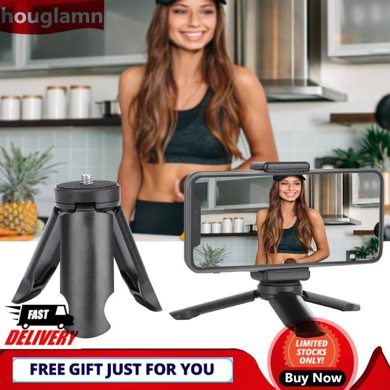 【houglamn】PULUZ Mini Folding Smartphone Holder Phone Stable Stand Mount Tripod