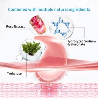 Hình ảnh Set 60 mặt nạ LANBENA collagen hoa hồng chống nếp nhăn cho mắt-4