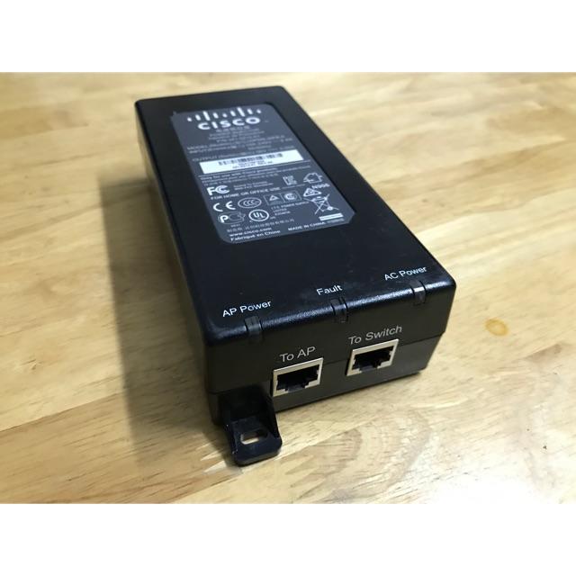 Bộ cấp nguồn vào dây mạng Cisco PoE injector 25w Giá chỉ 249.000₫