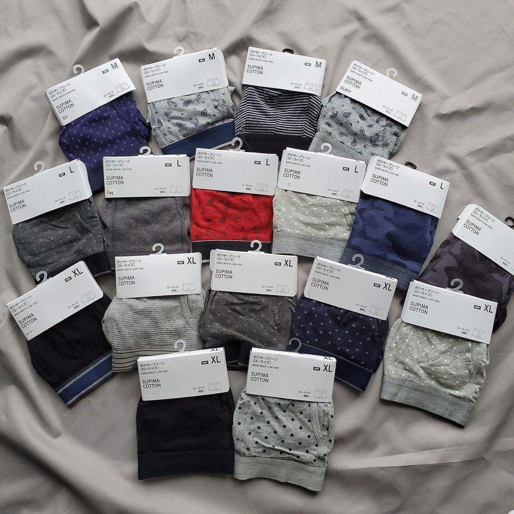 [Socks Non-Tumble] U Genuine Underwear Cotton Men