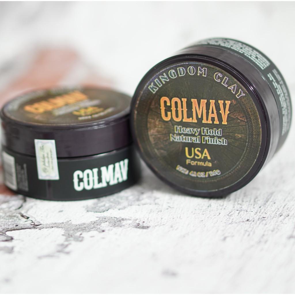 Sáp Vuốt Tóc dạng Cream Colmav Kingdom HÀNG U.S.A/ sap vuot toc / keo vuốt tóc / wax vuốt tóc / wax