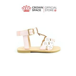 Xăng đan Bé Gái Crown Space UK CRUK7012 Sandals Đi Học Đi Chơi Trẻ em Cao Cấp Nhẹ Êm Thoáng Size 25-34 2-14 Tuổi thumbnail